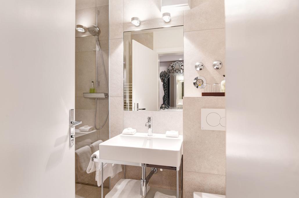 Hotel Admiral München | Superior Zimmer | Badezimmer